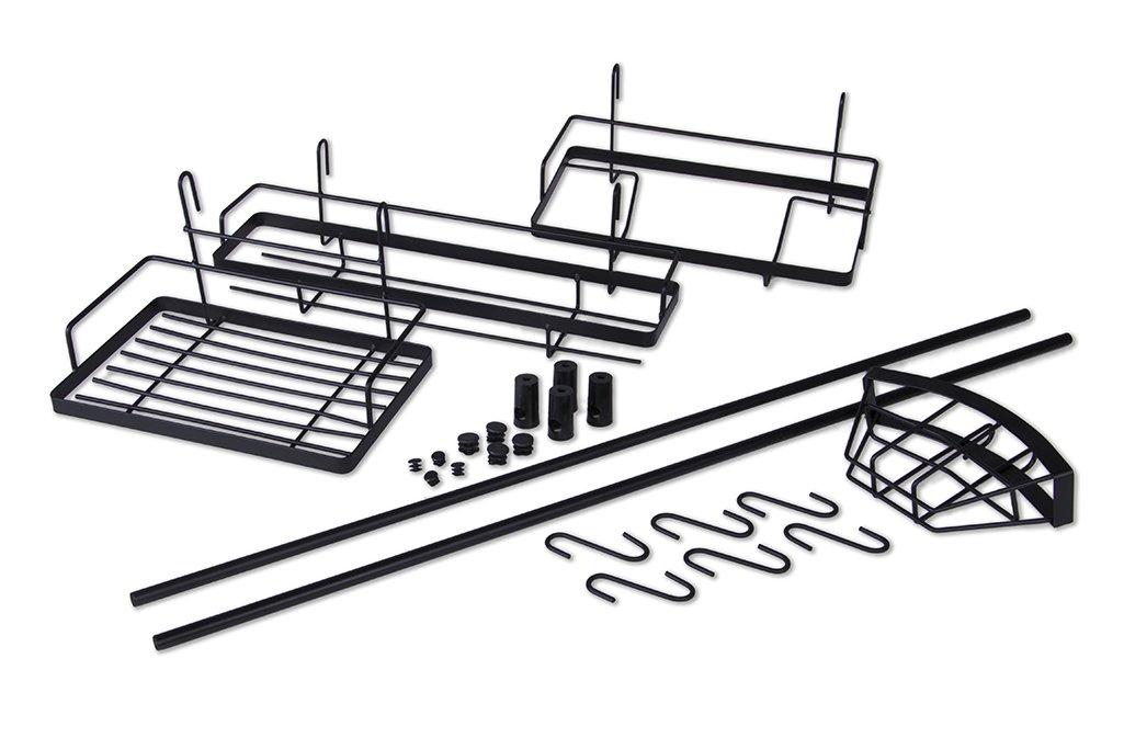16 Teilige Kuchenreling Reling System Kuchenleiste Hangeorganizer
